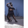 Tango dancers showing their skills in Beunos Aires.- Argentina