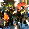 Preparing for the carnival at Uyuni - Bolivia